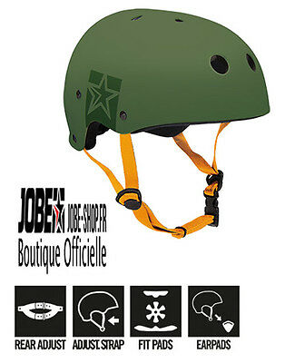 Casque Sports Nautiques Slam Wake Helmet Green Jobe - wakeboard - skis