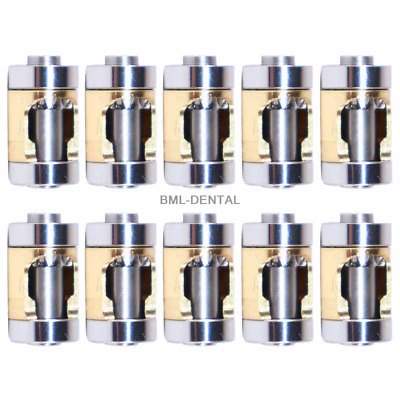10 pcs Cartridge/Rotor for Dental E Type Push Contra Angle Handpiece Low Speed