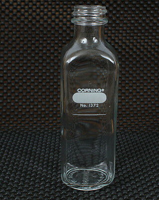 Lot of 5 Corning Pyrex 160mL Narrow Mouth Milk Dilution Bottle 1372-160