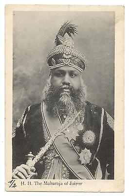 H.h. The Maharaja Of Jaipur.india.indes.