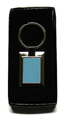 Metal Rectangle Shape Keyring With Sublimation Print Insert For Heat Press A23