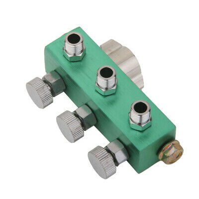3 Way Airbrush Air Hose Splitter w/ Regulated Metering Manifold for Airbrush NEW