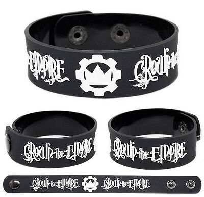 CROWN THE EMPIRE Rubber Bracelet Wristband Rise of The Runaways