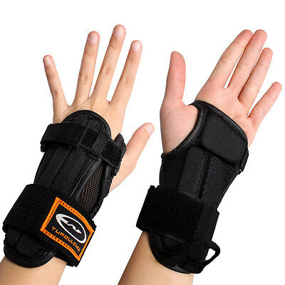 Elastic Wrist Band Guards Protector Splint Support Brace For Skating Snowboard