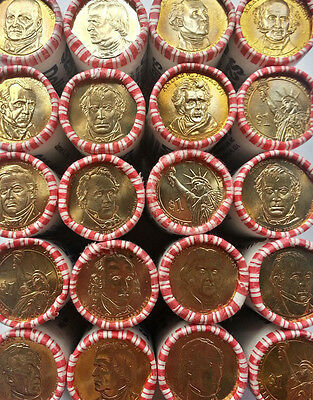 "(Lot of 10) Different Presidential Dollar Coins ""Brilliant Uncirculated"" US Mint"