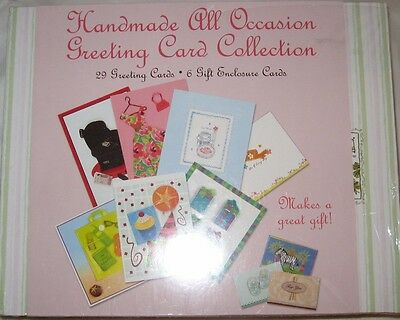 NEW Handmade All Occasion Greeting Card Collection - Sealed - 35 Cards