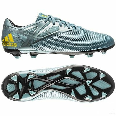 sports shoes 9e1f5 6847e ... ebay adidas messi 15.3 fg firm ground youth soccer shoes ice bright  yellow core bla 654e6