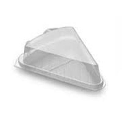 High Gateaux Cake Wedge Clear Plastic (600) Takeaway Packaing, catering Supplies