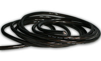 New Pacific High Grade 4AWG Power Cable (10'). Translucent Black