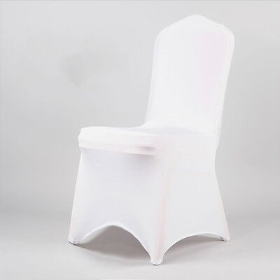 50-100 Chair Covers Spandex Lycra Wedding Banquet Anniversary Party Décor
