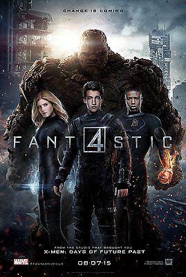 Fantastic 4 Four Double Sided DS Movie Poster 27x40 Final Version