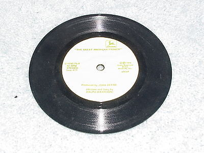 John Deere The Great American Farmer 45 Record 1975