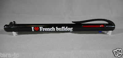 I Love Animal Ball Point Pen 3 Color (French Bulldog) Japan