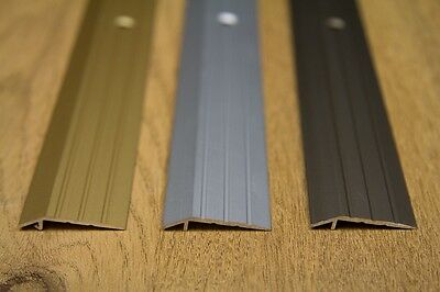 Anodised Aluminium Door Floor Bar Edge Trim Threshold Ramp 1000 Mm Length