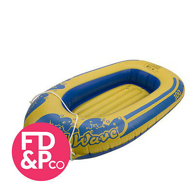 """103"""" Rubber Boat Dinghy Inflatable Raft Childrens Swimming Pool Beach Toy"""