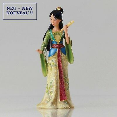 "DISNEY SHOWCASE COLLECTION - Skulptur - ""Haute Couture - MULAN"" - 4045773 NEU !!"