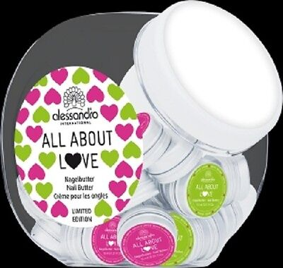 (42,00€/100ml)alessandro NAGELBUTTER - ALL ABOUT LOVE 15 ml *NEU + OVP*
