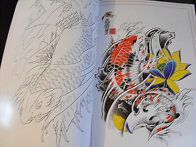 tattoo flash design book a3 dragons skulls masks nice book with lines 60 pages