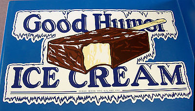CLASSIC GOOD HUMOR Ice Cream Bar Decal / Sticker - LARGE, DIE CUT, ~RARE~
