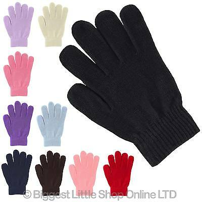 NEW Ladies Mens Adult MAGIC GLOVES Assorted Colours One Size Fits All Unisex