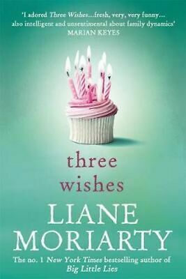 NEW Three Wishes By Liane Moriarty Paperback Free Shipping