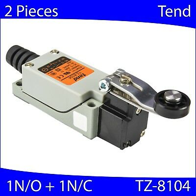 (2 PCs) TZ-8104 TEND Compact Limit Switch 1NO and 1NC 4 Terminal (High Quality)