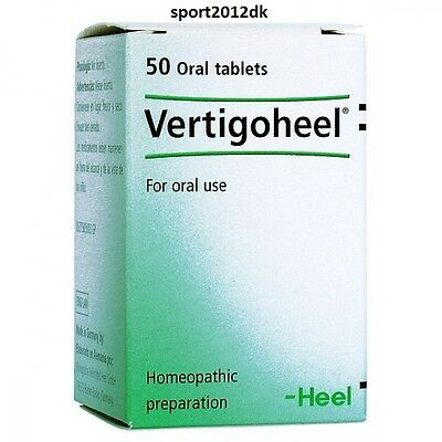 ..Vertigoheel.. Heel homeopathy Tablets for oral use 50 tablets