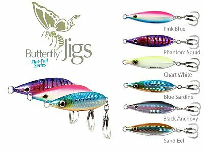 Shimano Butterfly Flat-Fall Jig  -- Sinking Flat Fall-- Pick Color and Size