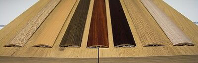 7 Colours Wood Effect Door Edging Floor Trim Threshold - 40mm