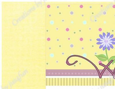 Flower Power eBay Auction Template Listing Template