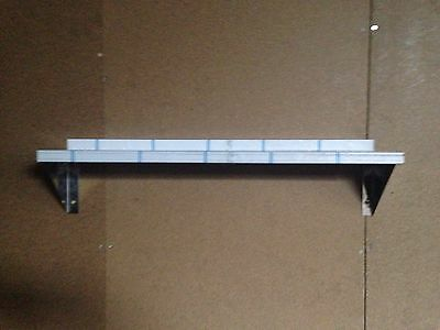 stainless steel shelf 100mm deep 400mm to 1000mm