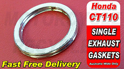 Replacement Exhaust Gasket For Honda Ct110 Postie Bike All Models