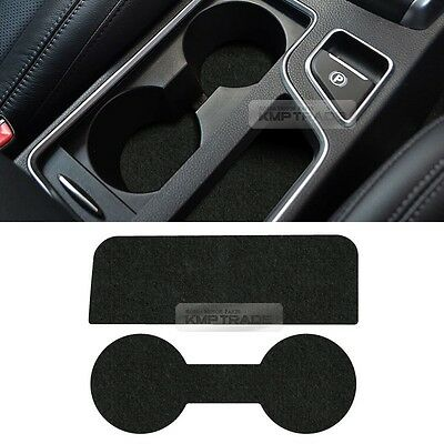 Center Console Cup Holder Nonslip Tray Pad 2pcs for SSANGYONG 2015-2016 Tivoli