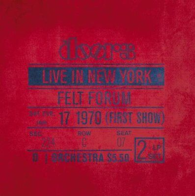 The Doors - Live In New York January 17-1970 [2 LP] RHINO RECORDS