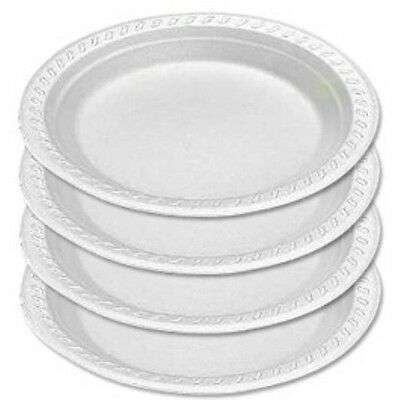 """7"""" Foam Plates (600) Takeaway Disposable Plates, catering Supllies"""