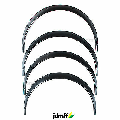Universal JDM Fender Flares over wide body wheel arches ABS 50mm 4pcs
