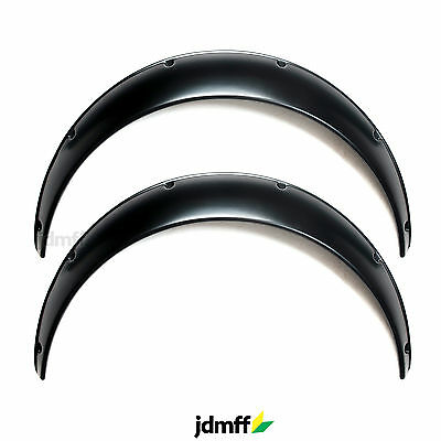 Universal JDM Fender Flares overwide body wheel arches ABS 90mm 2pcs