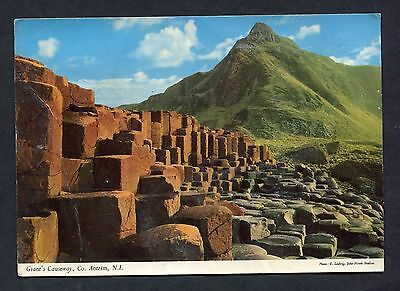 C1970's View of the Giant's Causeway, County Antrim, Northern Ireland.