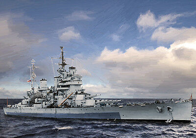 Hms Anson - Hand Finished, Limited Edition (25)