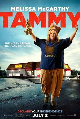 Tammy Movie DS Double Sided Poster 27x40 Melissa McCarthy 2015