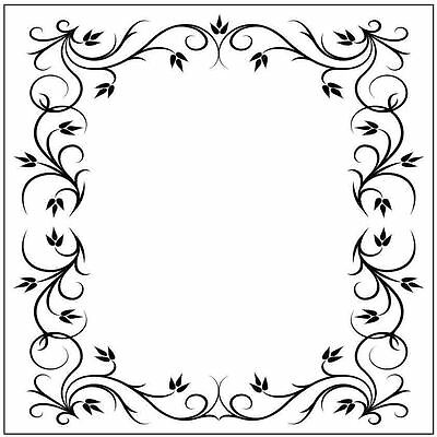 * PORTA CRAFT * Embossing Folders Square (140*140mm) Rectangle A Frame