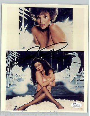 Joan Collins Signed Autographed 8X10 Hot Photo Authenticated Coa #44356