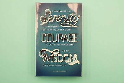 Serenity Prayer Motivational Quote