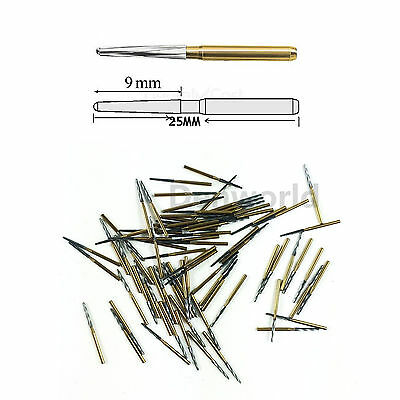 10PCS Dentsply Maillefer Endo-Z Burs FG 25mm tapered burs for pulp chamber