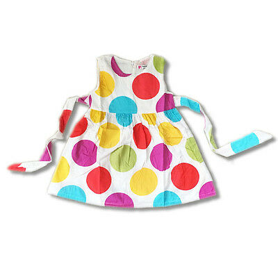 Girls Dress Princess Party Tutu Summer Polka Dot Dress size 1-6 Years