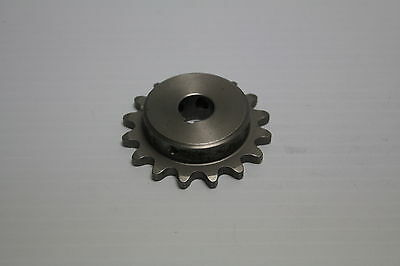 "Martin 35B16SS 1/2"" Bore Stainless Steel Single Row Chain Sprocket Used"