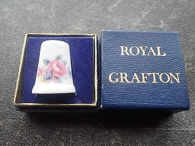Thimble Royal Grafton Bone China With Box