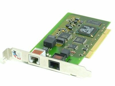 AVM ADSL/ISDN Controller interne Combo PCI Modem Fax Network Card LAN-Karte NIC