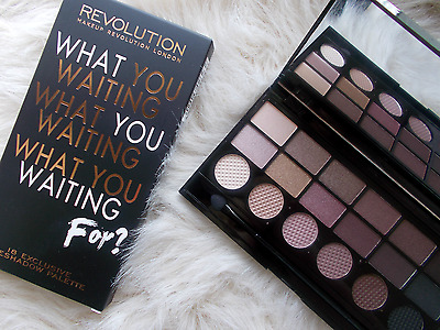 Makeup Revolution Salvation Eyeshadow Palette 18 Pc - What You Waiting For Gift