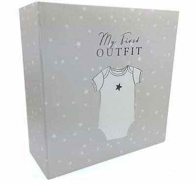 Baby Gift Keepsake Box My First Outfit CG1191